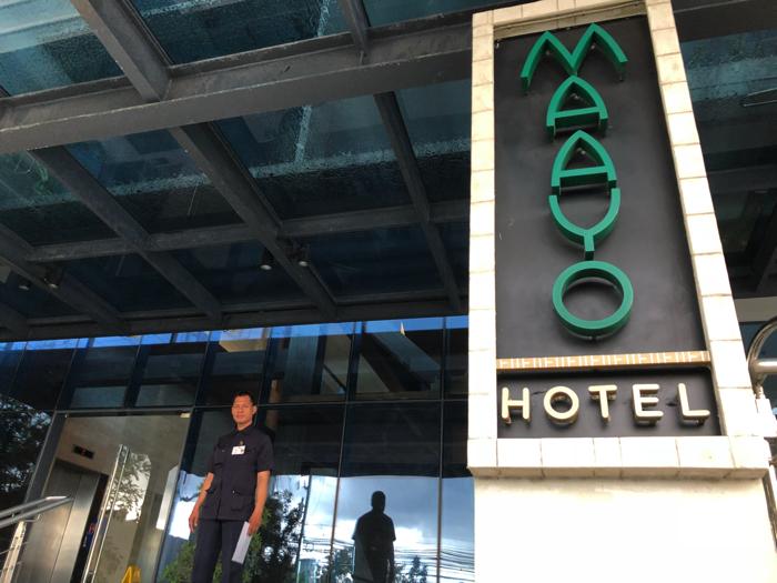 Maayo hotelレストラン