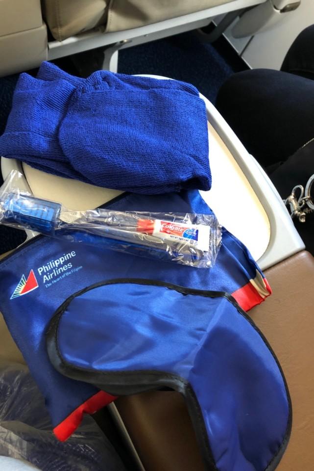 フィリピン航空のビジネスクラス